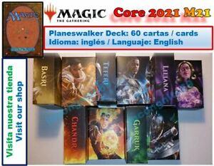 Magic the Gathering MTG STANDARD 2021 PLANESWALKER DECKS NUEVO CAJA / NEW