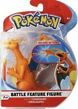 "Charizard Pokemon Battle Feature Figure Deluxe Action 4.5"" Series 3"