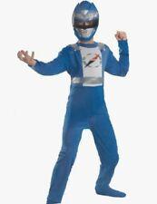 Power Ranger Operation Overdrive Blue Costume Size 7-8 Medium New Child