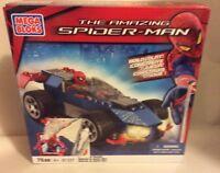 MEGA BLOKS, SPIDER-MAN SPEEDER, AMAZING SPIDER-MAN KIT # 91337, NIB, 2012