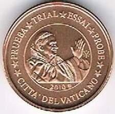 Vaticaan 2010 probe-pattern-essai - 2 eurocent - Paus Benedictus XVI