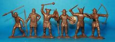 Set of 6 Viking Plastic Toy Soldier 54mm 1/32 scale OGONEK Russia