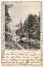 CPA 77 - MELUN (Seine et Marne) Pont sur l'Almont et Maison Centrale. Dos simple