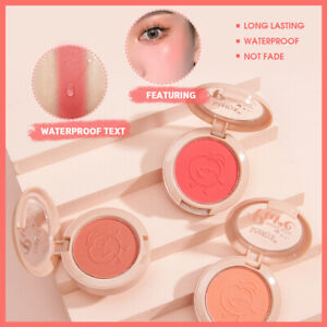 Blush Natural Makeup Rosy Enhance Complexion Mashed Rouge Blush Non-Greasy