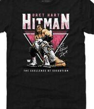 Legends WWE Bret Hart Sharpshooter Triangle T Shirt Vintage Trend S-3XL Retro