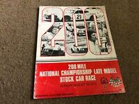#MISC-3642 AUG 19 1973 200 LATE MODEL MILWAUKEE car racing program