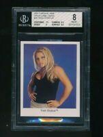 2001 Cardinal WWE WWF Trish Stratus BGS 8 RC Rookie HTF Rare