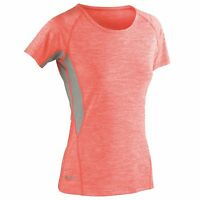 Womens Short Sleeve T-Shirt Tee Top Gym Sports Yoga Breathable Running T Shirt