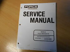 Shop Repair Service manual Outboards Force 40 / 50 HP (1996) Werkstatthandbuch