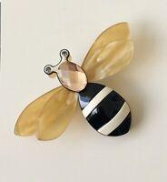 Adorable Bee Pin Brooch In acrylic