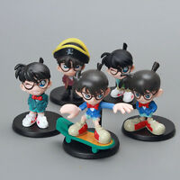 Detective conan 5pcs a set pvc figure collection doll anime figures new