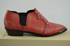 Diesel Black Gold Red Stiefel Stiefeletten Woman Damen Gr. 39