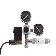 Acquario Sistema Elettrovalvola Pressione CO2 Riduttore Regolatore + Manometro
