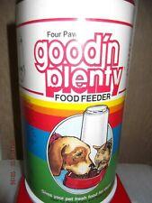 New FEEDER Four Paws DOG, CATS AND RABBITS 3 QUARTS.