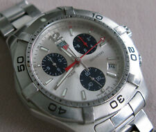 TAG HEUER AQUARACER CAF1111 Quartz Chronograph Men's Watch;K165