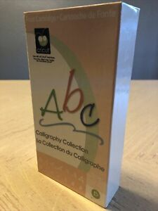 Cricut Cartridge – CALLIGRAPHY COLLECTION - Gently Used