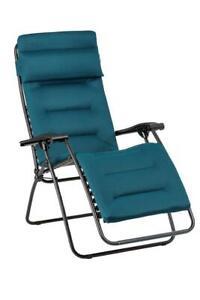 Lafuma Relax RSX Clip Air Comfort LFM 2038 6893 Coral Blue Garten Camping Stuhl