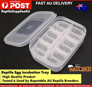 12 Egg Reptile Incubation Tray Suspended Incubation Tray Reptile Egg Container