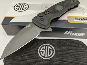SIG SAUER by Hogue Tactical X-1 Microflip Knife CPM-154 Stainless Blade 16162