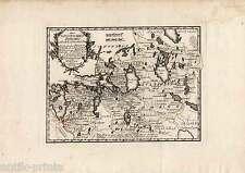 Baltikum-Estland-Lettland-Livland-St. Petersburg-Riga - Karte-Map - Reilly 1789