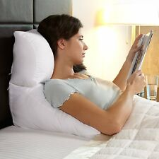 Contour Flip Pillow Plus Case - Three Sizes, 5 Colors Bed Wedge Lounge Cushion
