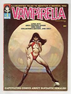 Vampirella #1 GD+ 2.5 1969