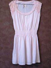 Robe CACHE CACHE T38 - Robe tout coton rose taille élastique (1803007)