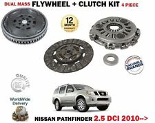 FOR NISSAN PATHFINDER 2.5 DCI 4X4 2010-> DUAL MASS FLYWHEEL + 3 PIECE CLUTCH KIT
