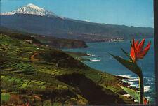 Postcard north and teide tenerife CANARY ISLANDS postcard postkarte cc02134