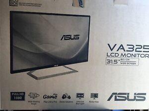 """ASUS VA325H LCD Monitor 31,5"""" Wide Screen"""