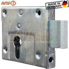 AMF 49Z Gate Shed Van Garage Lock Double Throw Zinc Plated Rim Euro Deadcase