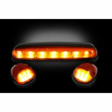 Recon 264155AM Amber Cab Roof Lights For 2002-2007 Chevy & GMC Classic