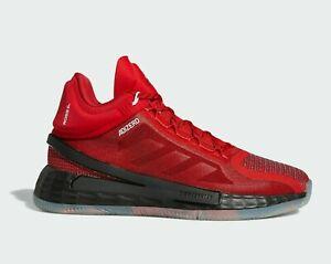 Men's Adidas D Rose 11 Brenda Black Red Basketball Shoes FV8927 Size 13 Rare