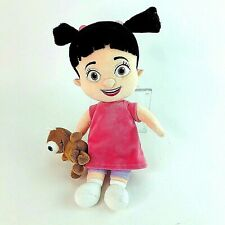 Original Disney Store Monsters Inc Boo Little Girl Plush Doll Toy with Teddy