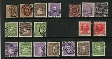 Denmark 1851- Collection of 19.Used.Fine/Very Fine