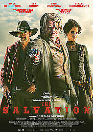 THE SALVATION Bad Men Will Bleed 2015 BLU-RAY        FREE POST IN UK