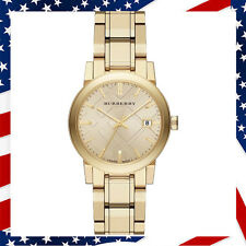 New Authentic Swiss Made Light Champagne Dial Light Gold-tone Ladys Watch BU9134
