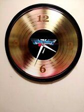Van Halen -12 Inch Quartz Wall Quartz Clock / Mancave / Bar / Free Priority
