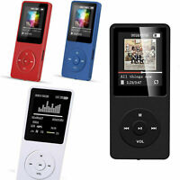 Multifunción Portatil Musica AVI MP3 Reproductor 8GB 128GB Micro SD Hi-Fi NEW