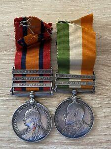 Queens South Africa Medal (QSA) & Kings South Africa Medal (KSA) Pair - R Berks