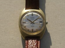 ORIS STAR TWEN - Automatic Men's Wristwatch - 60's - 70's - Gold plated case