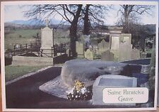 Irish Postcard St Patrick'S Grave Downpatrick Down Northern Ireland Johnston