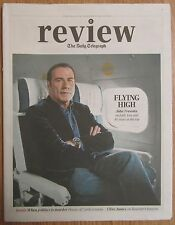 John Travolta - Daily Telegraph Review – 8 February 2014