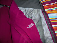 THE NORTH FACE Jacke Hyvent Fleecejacke vintage Regenjacke outdoor Damen Gr.M
