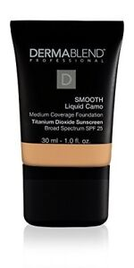 Dermablend Smooth Liquid Foundation Makeup with SPF 25, Medium to Full Coverage