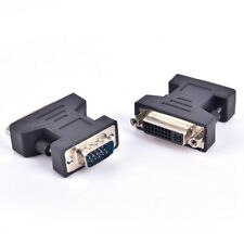 DVI to VGA Adapter VGA Male to DVI 24+5 Pin Female Converter for Computer L_ws