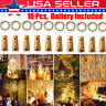 10 X Wine Bottle Fairy String Lights 20 LED 2M Battery Cork For Party Xmas Decor