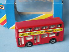 Matchbox MB-17 Titan Bus Nice To Meet You Japan 1984 Boxed