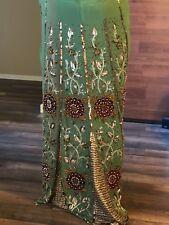 Bollywood-Style-Designer-Embroidered-Sari-Silk-Party-Wear-Saree