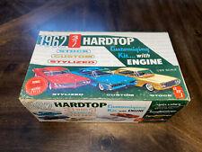 AMT 1962 PONTIAC BONNEVILLE SPORT COUPE STYLINE HARDTOP 3N1 W/ 1/25 MOTORCYCLE